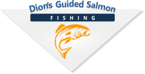 Dion's Guided Salmon Fishing, Campbell River and Quadra Island in the Pacific Northwest